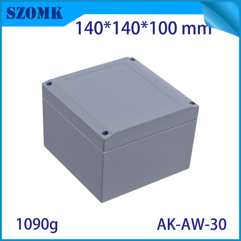 Aluminum waterproof box electric die cast aluminum junction box szomk aluminum waterproof enclosure for pcb design aluminum case 122 45 110mm w h l aluminum enclosure for pcb case wall mounting aluminum box aluminum extursion box junction box