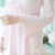 Frete Grátis Primavera Rosa Mulheres Pijamas Calças de Pijama Conjuntos Pijama Completo Manga Gola Redonda Princesa Laço Real Sleepwear P150031
