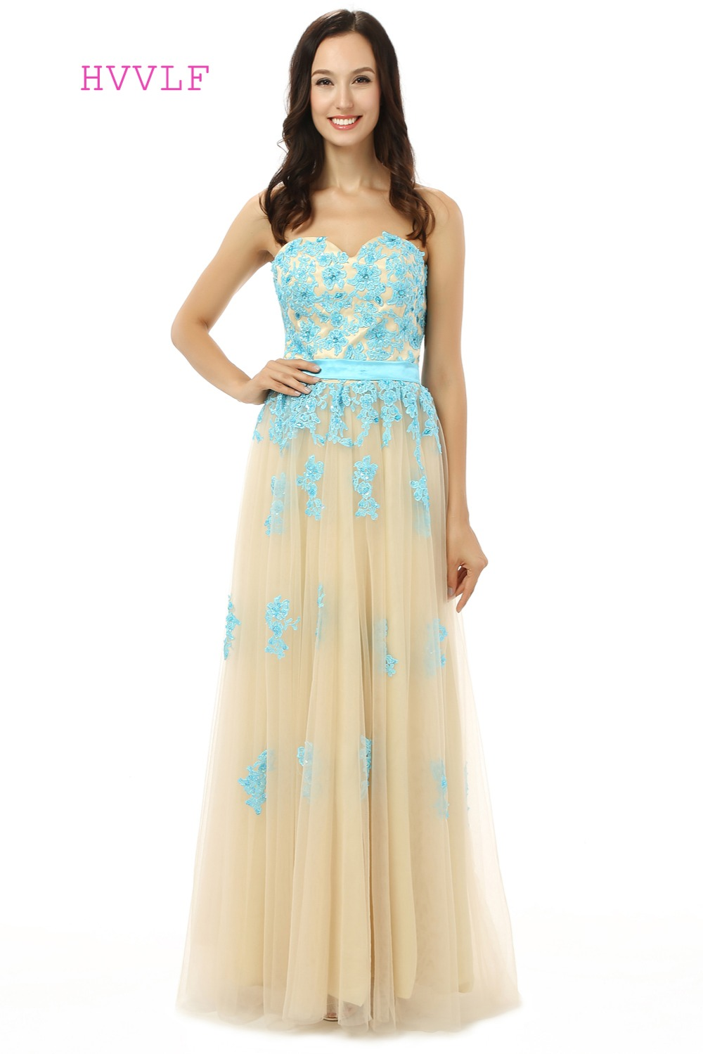 Online get cheap maternity evening gowns aliexpress alibaba backless evening dresses 2017 a line sweetheart champagne tulle appliques lace long maternity evening gown ombrellifo Choice Image