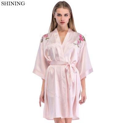 369ead20d Ropa de dormir mujer VS verano Sexy bata mujer ropa de casa Lencería Kimono  Albornoz dama de honor batas bata mujer para mujer chica