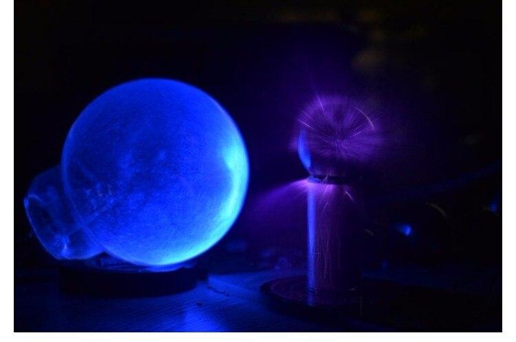 Mini expériences scientifiques de rendement élevé de bobine de Tesla de mini générateur artificiel superbe de foudre nécessaires - 4