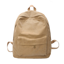 купить Women's Backpack Canvas Vintage Shoulder School Bags for Teenage Girls Boy Female Fashion Bagpack Travel Notebook Men Backpacks по цене 1019.01 рублей