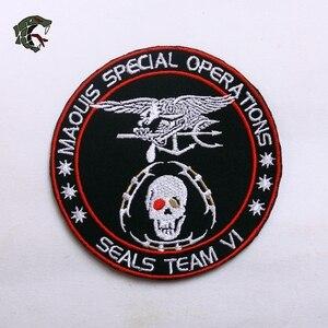 "Image 5 - Tsnk軍事愛好家刺繍patch army tactical badge ""シールチーム/手袋/ベビーカート"" 腕輪"