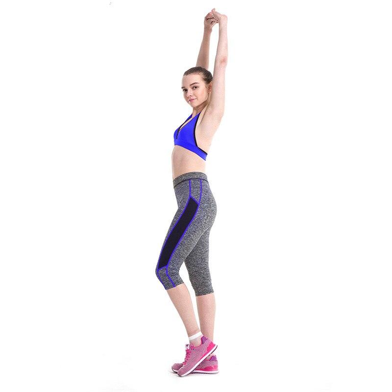 2018 New Seven Points Yoga Pants Fashion High Waist