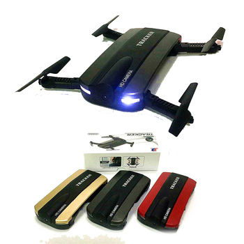 JXD 523 523W Tracker Foldable Mini Rc Selfie Drone with Wifi FPV 720P HD Camera Altitude Hold&Headless Mode RC Quadcopter Drone