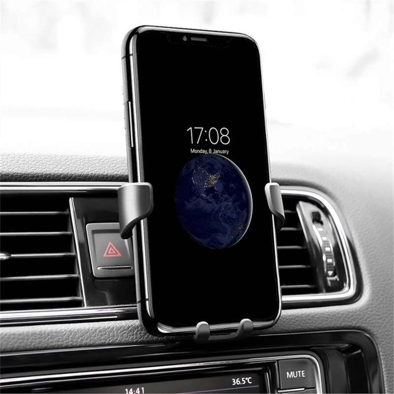 Car Phone Holder Air Vent Mount Holder For <font><b>Lada</b></font> Granta Vaz Kalina Priora Niva Samara 2 2110 Largus 2109 <font><b>2107</b></font> 2106 4x4 2114 2112 image