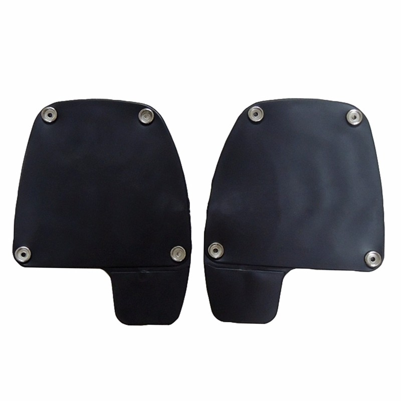 Painted Black Lower Vented Leg Fairing Gloves Box For Harley Touring Models Road King FLT FLHT FLHTCU Street Glide Ultra-Classic (7)