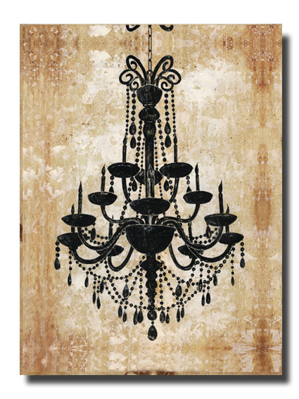 Canvas Painting Wall Art Home Decoration:Chandelier 1 Canvas Prints