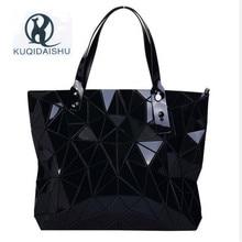 купить Summer Hot Handbag Women Bag Fashion Women Messenger Bao Shoulder Bags Hologram Clutch Tote Bag sac a main bolsa feminina по цене 636.98 рублей