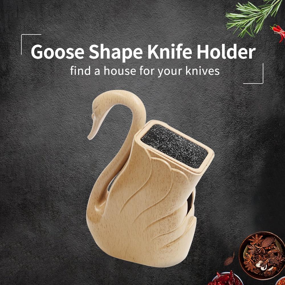 XYj пластик ножи держатель ABS + TPR ручной работы кухонные ножи стенд большой ёмкость для ножницы ножи пособия по кулинарии интимные аксесс