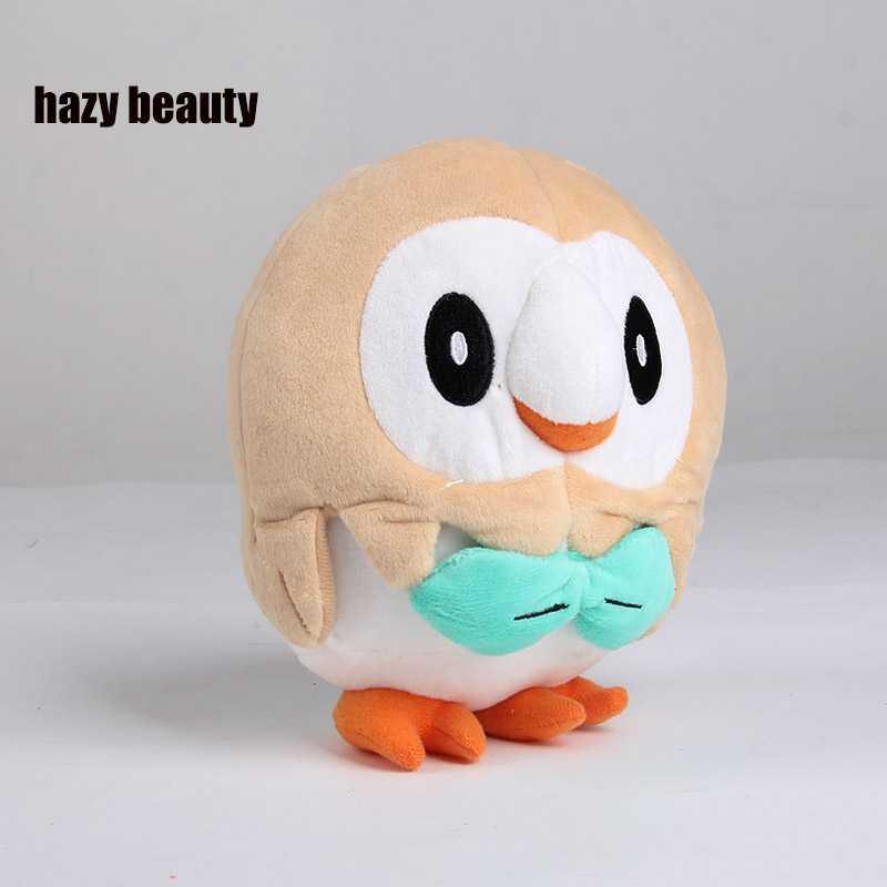 belleza nebulosa 20 CM pelucia Rowlet juguetes de peluche Pikachu litten felpa niños Animal mascota anime juguetes figuras Regalos para niños