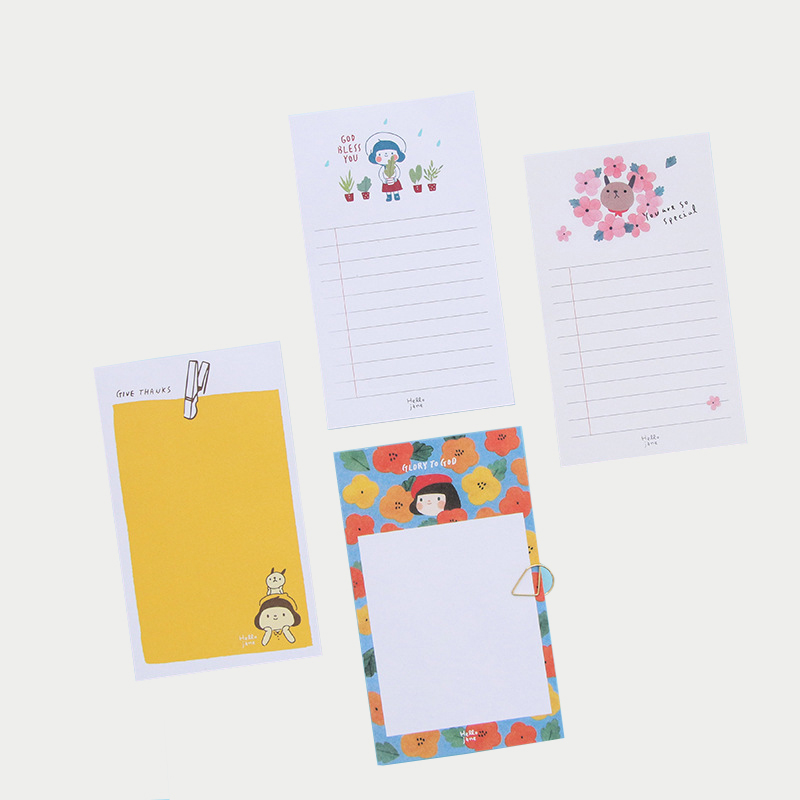 1 Pcs Memo Pad Sticky Notes Shopping Check List 70 Sheets Korean Stationery Message Post Escolar Papelaria School Office Supply