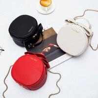 KYYSLO Trend Small Round Bag Handbag Japan and South Korea Fashion Wild Shoulder Messenger Bags Chain Bags for Women