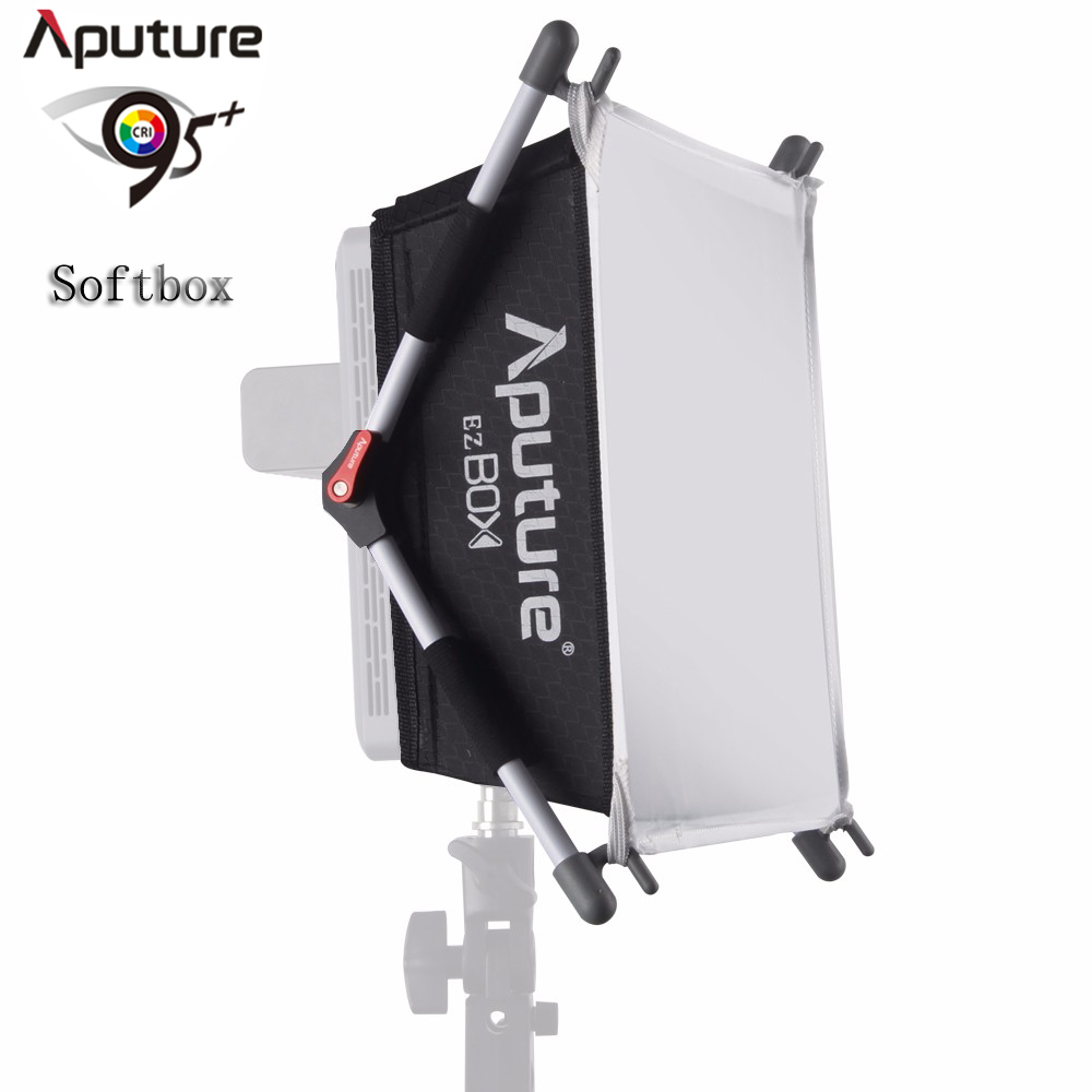 Aputure AL528 HR672LED Photographic Light EZ Box Light Soft Screen Set Beauty Dish Softbox Mount for Studio Strobe Flash Light yes beauty supply lanett al
