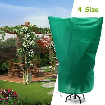 Środków ochrony roślin torby zima pokrywa rośliny narzędzia ogrodowe pokrywa roślinna torba tkaniny poliestrowe przeciw owadom organiczne netto mróz 4 rozmiar tanie i dobre opinie Polyester