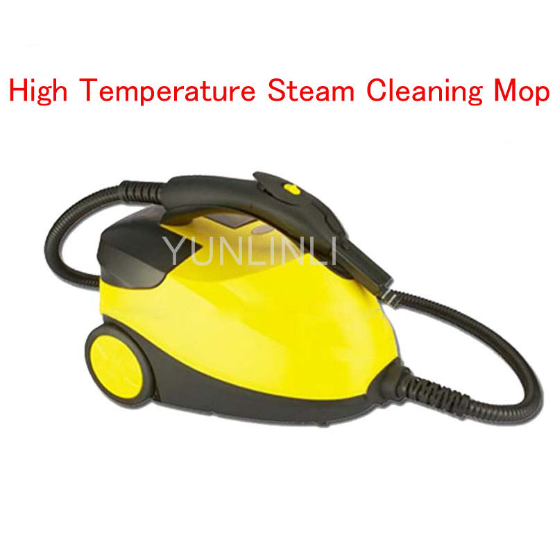 High Temperature Steam Cleaning Mop Handheld Floor Steam Cleaner Electric Steam Cleaning Machine household steam cleaner multi functional high temperature handheld sterilization strong steam cleaning machine 7348ch