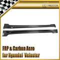 Car-styling Carbon Fiber Side Skirt Fit For Hyundai Veloster NEFD (All Model, Turbo model has to remove oem skirts)