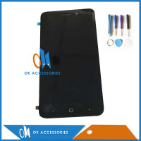 100 High Quality Black Color For ZTE Blade A601 BA601 LCD Display Touch Screen Digitizer Assembly