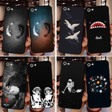 01817d301ba Nuevas fundas de teléfono para iPhone 6 7 8 6 S 7 Plus X XR XS MAX funda de  pez tiburón Águila botella de gato pájaro suave TPU .