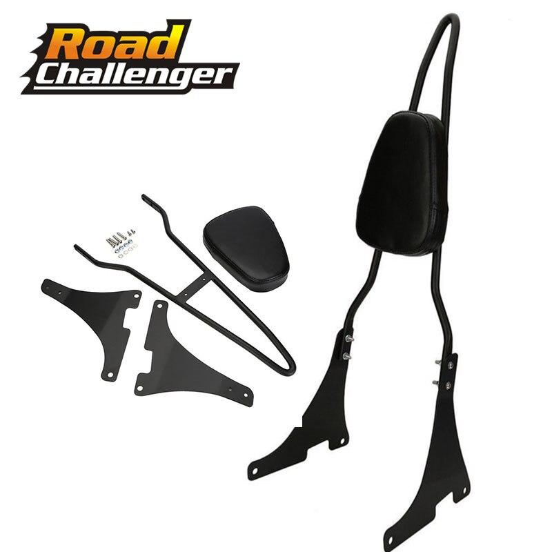Luggage Rack Backrest Passenger Sissy Bar For Harley Dyna Street Bob Super Glide Custom Low Rider FXDC FXDL FXDWG FXDB FXDI
