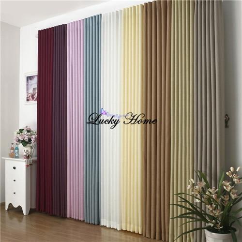 Online get cheap curtains grommet top - Cortinas de salon modernas ...