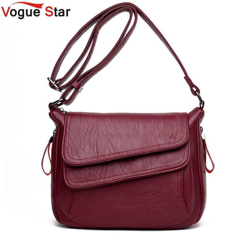 3ef8ffd233 7 Colors Leather Luxury Handbags Women Bags Designer Women Messenger Bags  Summer Bag Woman Bags For