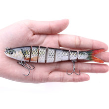 HENGJIA 1PCS Multi Jointed Hard Bait 13.7cm 27g Lifelike Wobblers Fishing Lure
