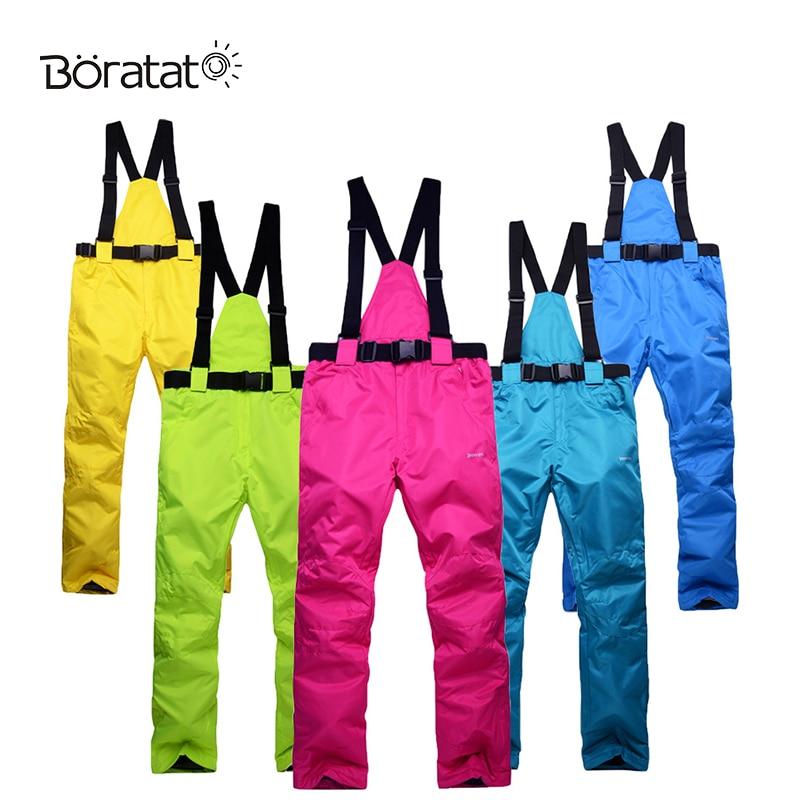 Pantalons de Ski pantalons de sport de randonnée d'hiver pour hommes et femmes vêtements de sport imperméables pantalons de Ski de neige en plein air pantalons thermiques de Snowboard