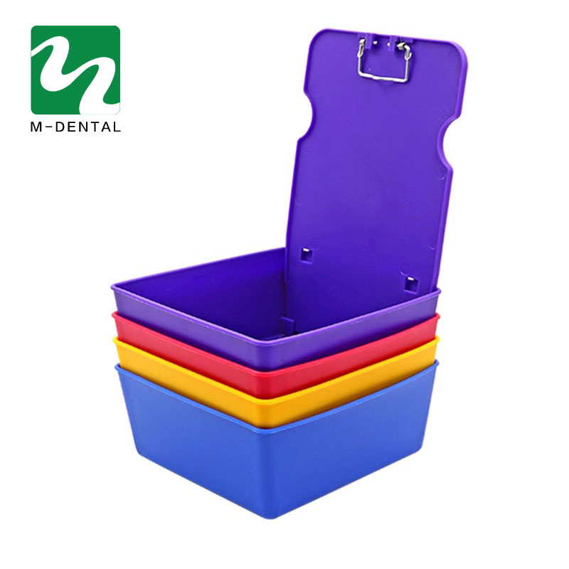 1pc Dental Storage Box Dentist Plastic Storage Sorting Box Dental Tools 4 Colors Available For Dental Lab Free Shipping
