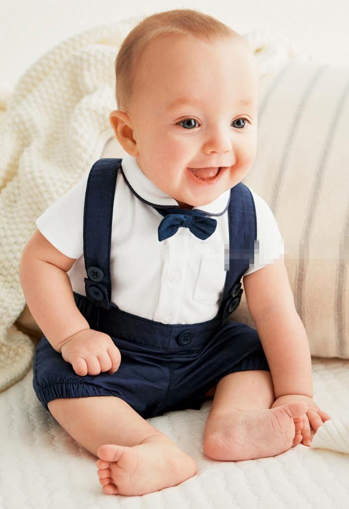 2017-new-Arrival-Baby-boy-clothing-set-Gentleman-newborn-clothes-set-for-boys-high-quality-cotton-T-shirt-Overalls-baby-suit-2