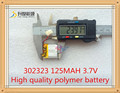 3.7V lithium battery 302323 032323 125MAH battery Bluetooth