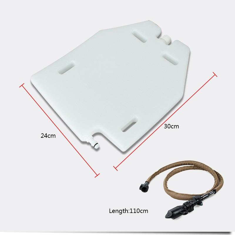 Image 3 - TMC 1.5L Plate Cut Hydrogen Storage Hydration Case Water Panel For molle combat assault Plate Carrier JPC CPC AVS tactical vestpanel casepanel carrierpanel plate -