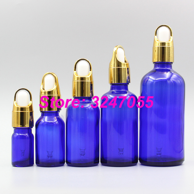 5ml10ml15ml20ml50ml100ml High Grade Cosmetic Glass Essential Oil Bottle,Blue Dropper Vials with Glass Pipette,Beauty Makeup Tool 500g cosmetic grade 99