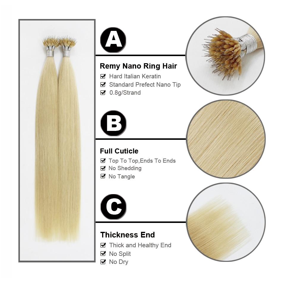 FOREVER HAIR Microesferas de Keratina Recta Europea cabello 0.8g / s - Cabello humano (blanco) - foto 5