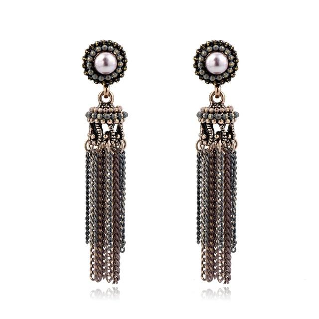 Модные жемчужные серьги toucheart модные ювелирные изделия подарки