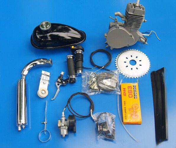 Electric Motor Retrofit Kit: Retrofit Kit Bike Bicycle Mini Gasoline Engine 80-in