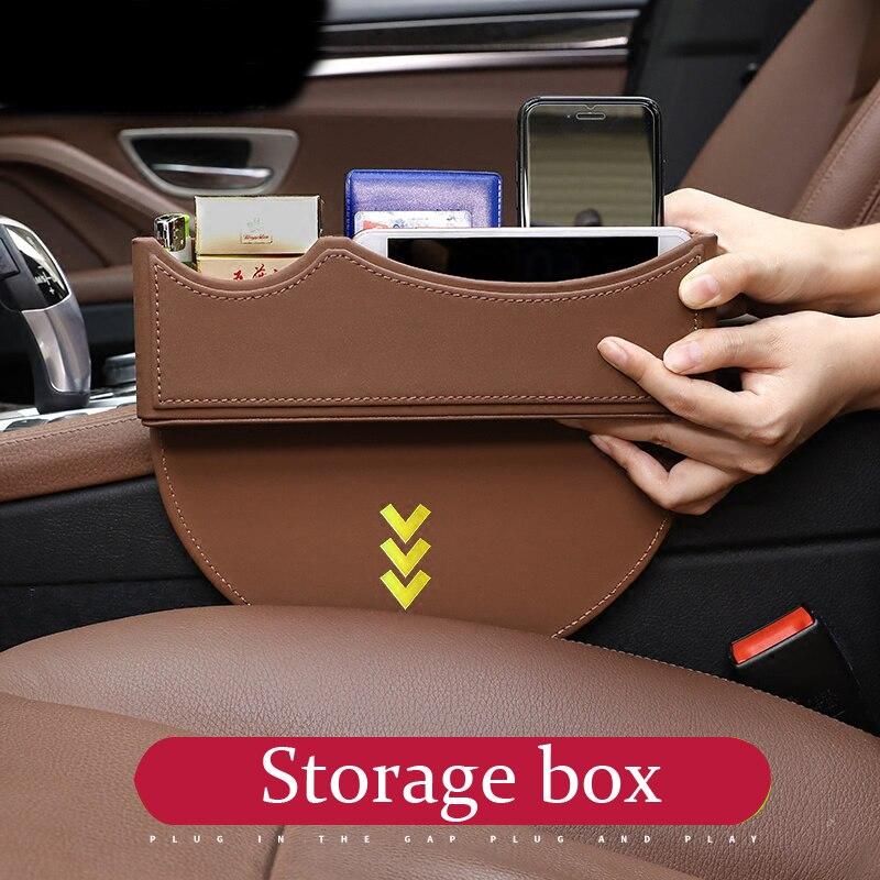 Car Styling For Audi A1 A3 A4 A6 A8 TT Q7 Q3 Q5 S5 S6 S7 S8 B6 B8 Inner Gear Shift Side Storage Box Holder Phone Box Accessor