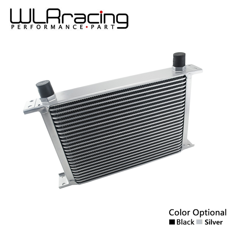 WLR RACING - 25 ROW AN-10AN UNIVERSAL ENGINE TRANSMISSION OIL COOLER WLR7025 vr racing 16 row an 10an universal engine transmission oil cooler vr7016 2