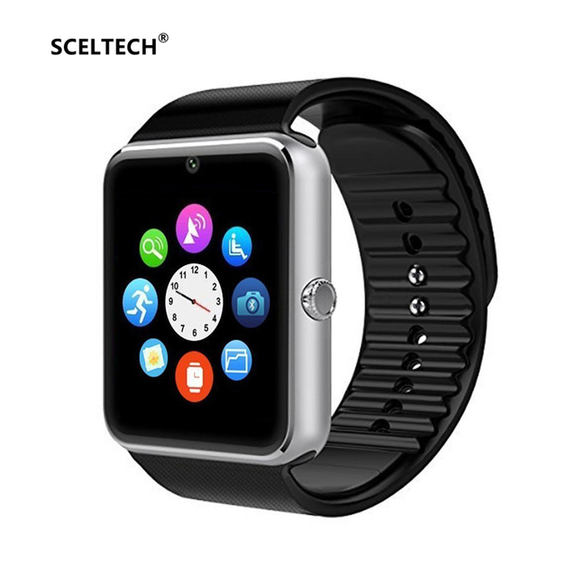 aa8ea480a5f SCELTECH Bluetooth GT08 Smart Watch Relogio Android Smartwatch Phone Call  SIM TF Camera for IOS iPhone