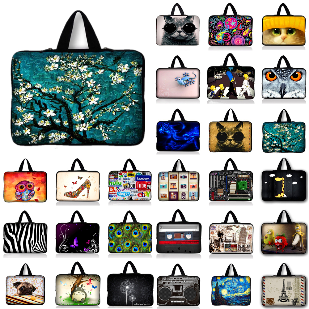customized Waterproof Laptop Sleeve bag Notebook Tablet Case For Asus Acer HP 9.7 11.6 13 13.3 14 15.4 15.6 17.3 17.4 inch #