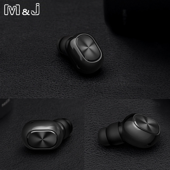 Mono Small Stereo Earbuds Earpiece Headphones 1