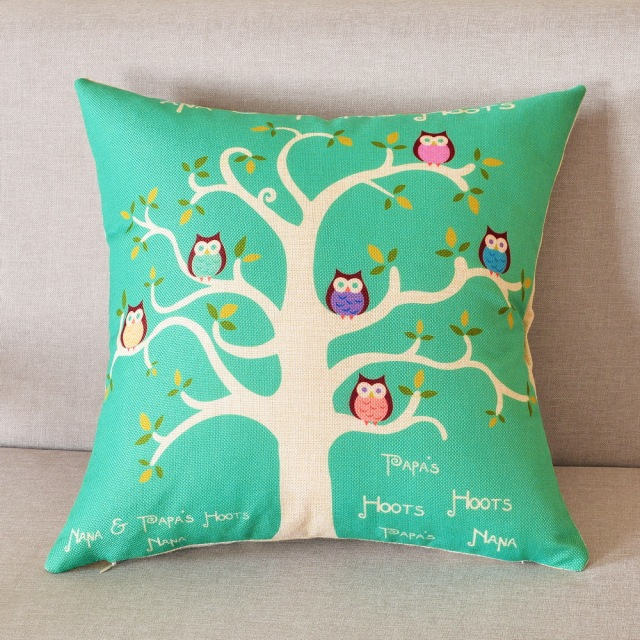 Happy Tree Decorative Cushion Covers 45x45cm