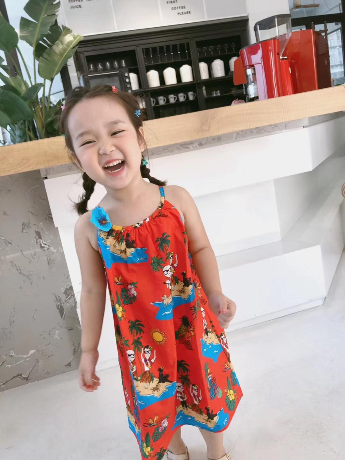 baby dress floral character pattern girls dress toddler summer kids dresses holiday clothesbaby dress floral character pattern girls dress toddler summer kids dresses holiday clothes