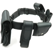 Tactical Belt suit Multifunctional Security Training Polices Guard Utility Heavy Duty Combat Belts 6pcs/sets