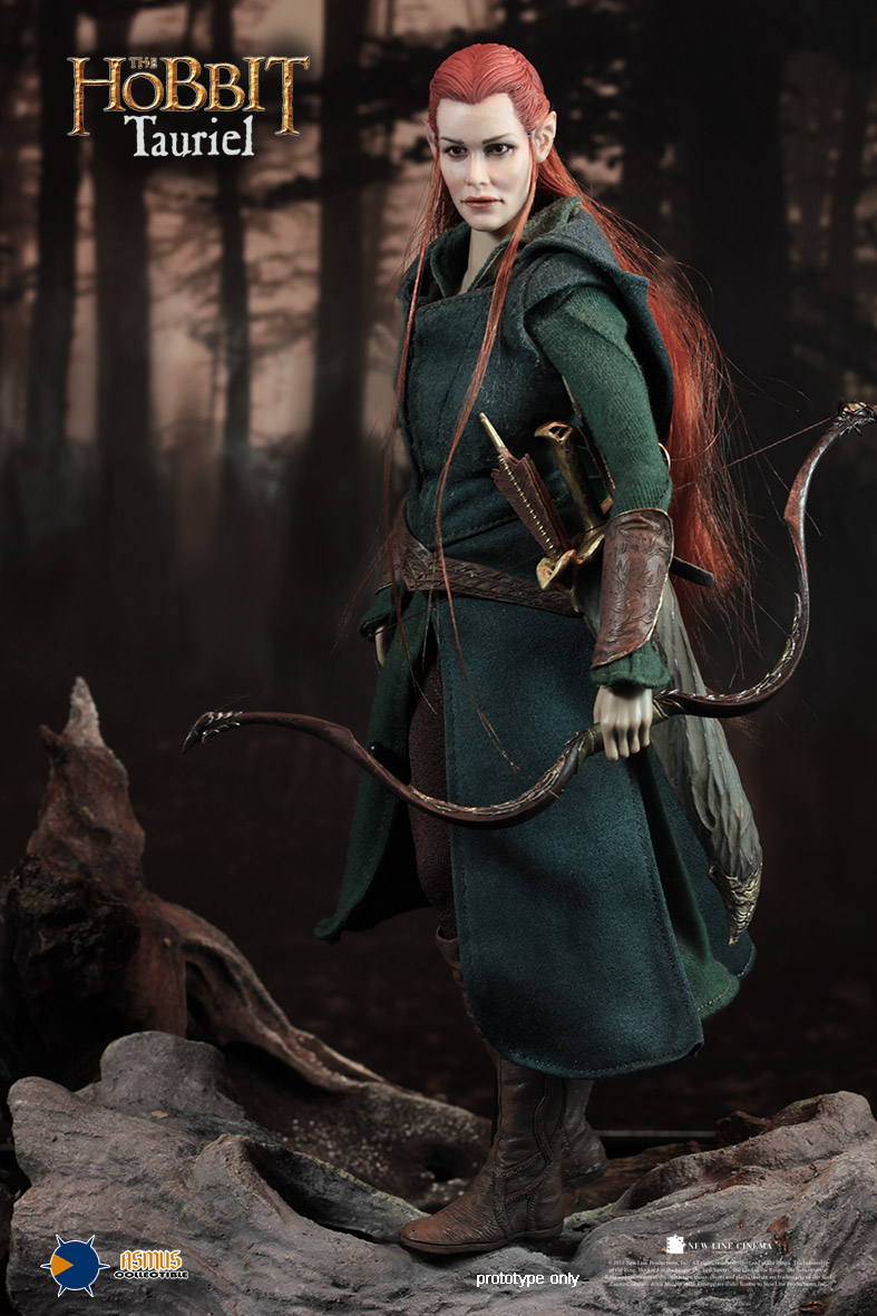 1/6 scale Super flexible figure female The Hobbit Elf Tauriel 12 action figure doll Collectible Model plastic toy did1 6 scale doll jean reno french soldiers special edition super flexible figure model toy wwi soldier finished product