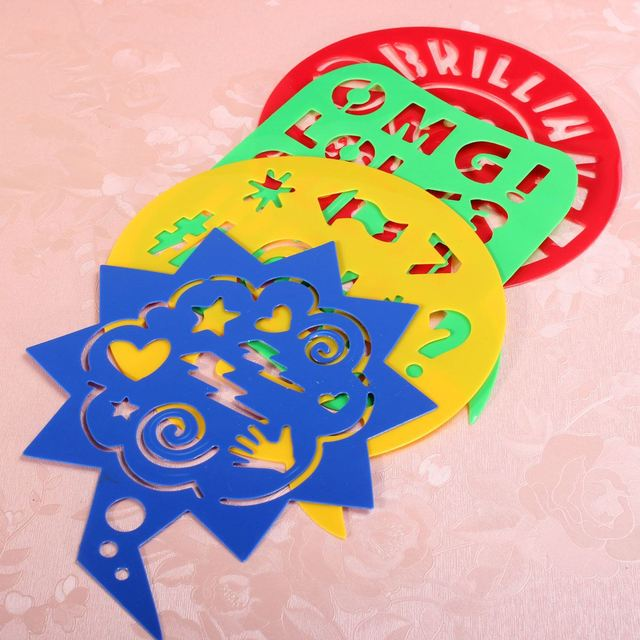 4 stücke Kunststoff Kinder Zeichnung Template Schablone Handwerk ...