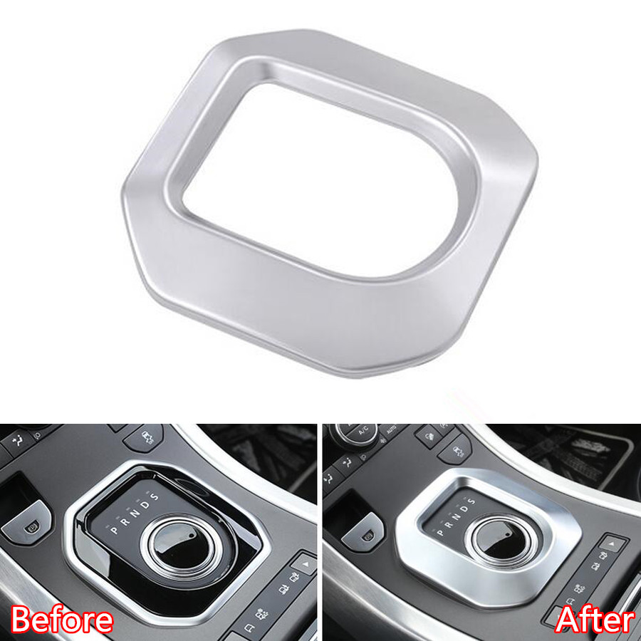 YAQUICKA ABS Car Gear Shift Panel Frame Trim Styling Sticker For Land Rover Range Rover Evoque 2012-2017 Car-covers newest for land rover range rover evoque abs center console gear panel chrome decorative cover trim car styling 2012 2017 page 8