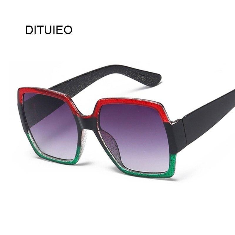 New Fashion Square Sunglasses Women Brand Designer Retro Mirror Sun Glasses Female Vintage Shades Lunette De Soleil Femme