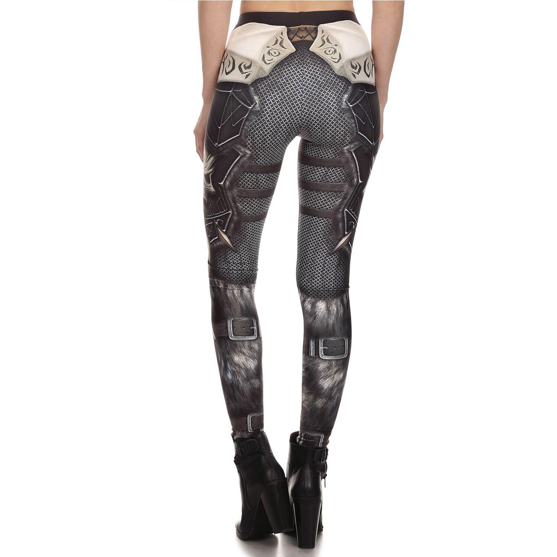 b7cc28c10b9e61 Fashion Design Leggings Steampunk Star Wars Leggins Women High Waisted  Mechanical Gear 3d Print Para Mujer