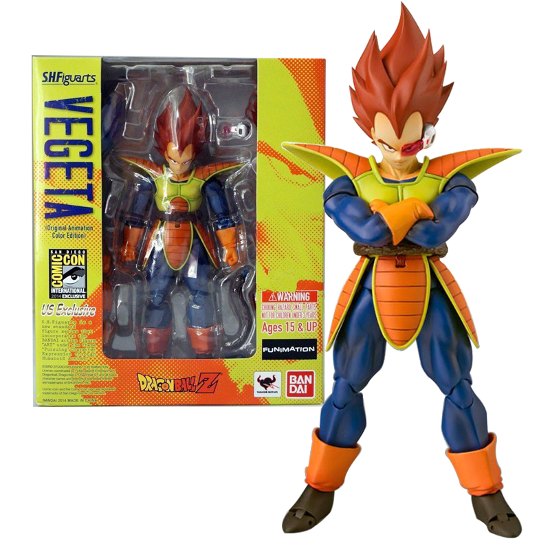 SHF Dragon Ball Z Action Figuras Vegeta Doll Dragonball Vegeta PVC Action Figures Collectible Model Toys 16cm